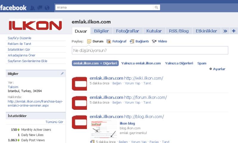 Emlak facebook grup